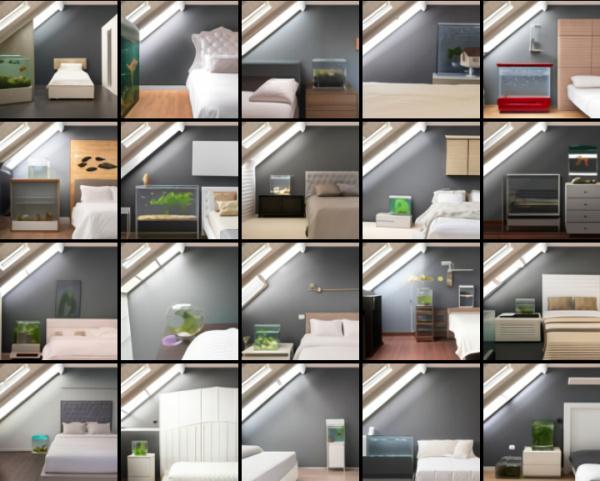 DALL-E bedroom
