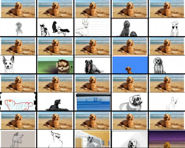 DALL-E dog