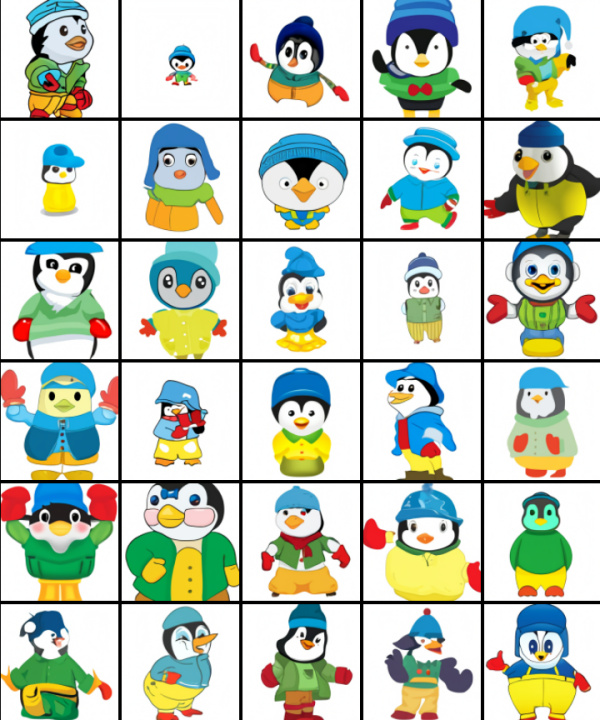 DALL-E penguin