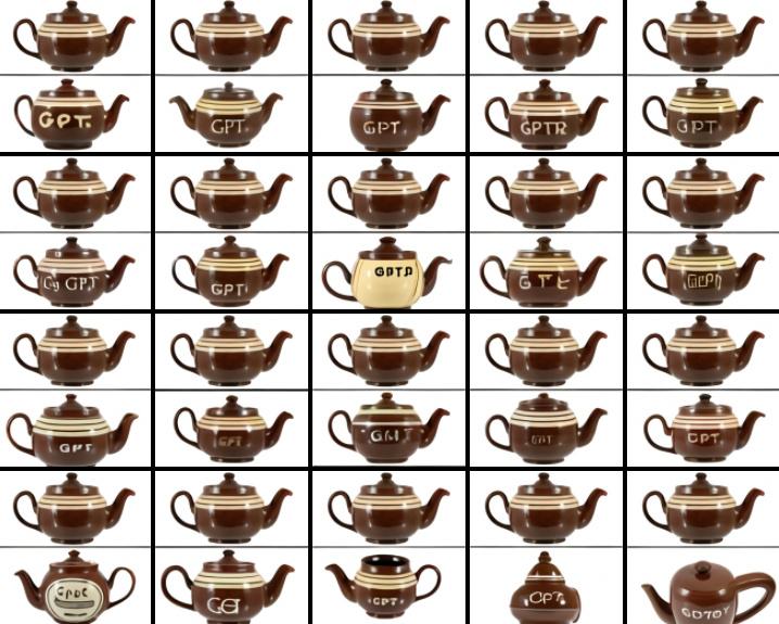 DALL-E teapot